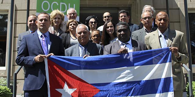 EL OBSERVATORIO CUBANO DE DERECHOS HUMANOS REÚNE EN GINEBRA A DESTACADOS LÍDERES DEMOCRÁTICOS CUBANOS