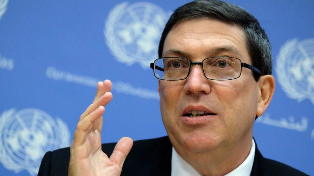 Los atropellos del gobierno que no cuenta el canciller cubano Bruno Rodríguez Parrilla