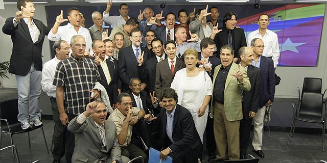 Amigos en La Habana y en Madrid