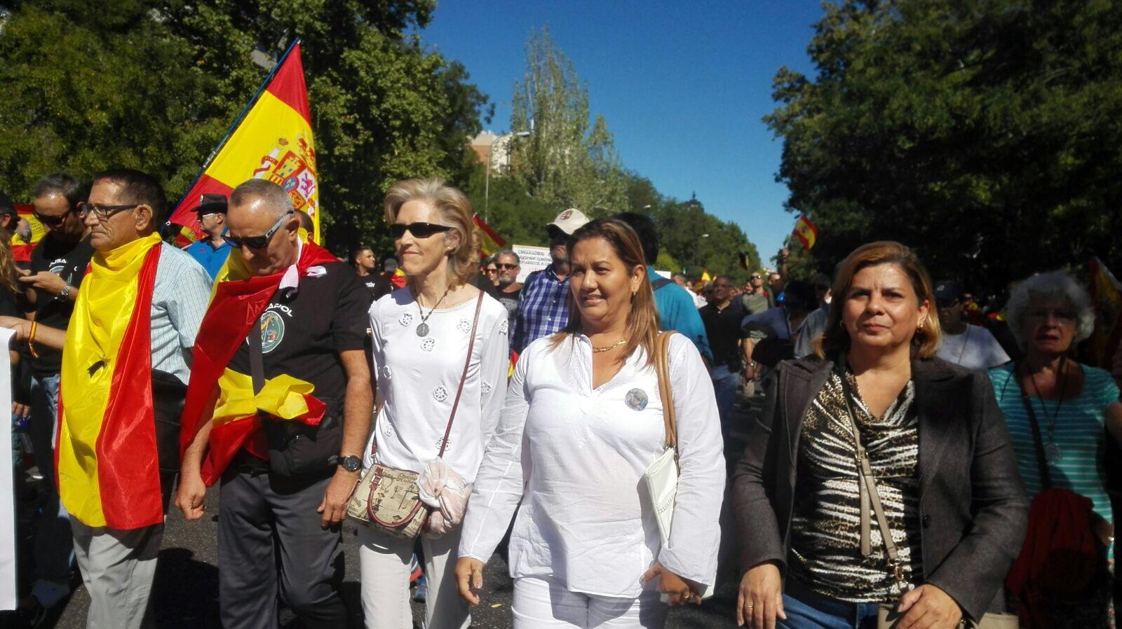 Detenida por realizar actos para enfrentar al estado español y al cubano