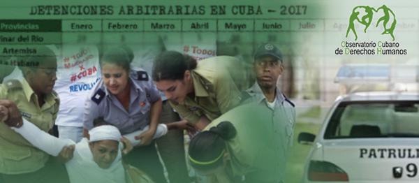 Al menos 288 detenciones arbitrarias ocurrieron en Cuba en abril, mes de la toma de posesión del nuevo presidente Miguel Díaz-Canel
