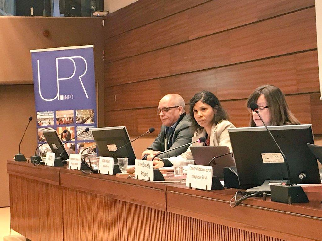 OCDH reprocha en Ginebra el poco compromiso del gobierno cubano