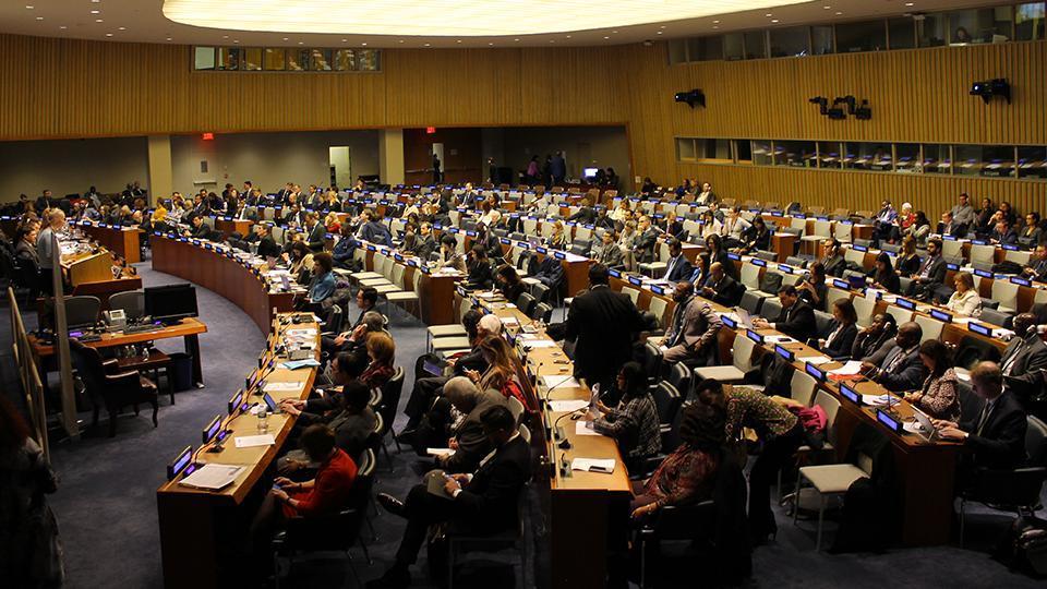 Intervención de Alejandro González Raga, ex preso político cubano y Director Ejecutivo del OCDH, en el evento de lanzamiento de la campaña «Jailed For What?» de Naciones Unidas