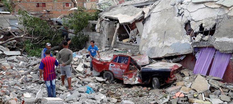 Ayuda humanitaria Tornado En La Habana