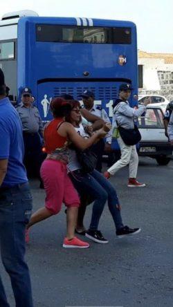 Detención de Illiana Hernández