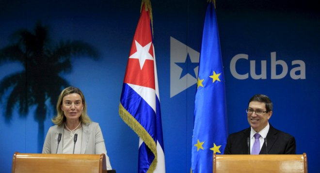 Carta del Observatorio Cubano de Derechos humanos a la Alta representante de la Unión Europea para Asuntos Exteriores y Política de Seguridad, Federica Moguerini, en su visita a Cuba