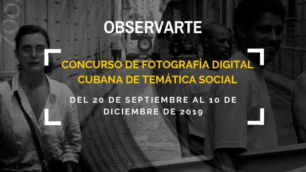Concurso «Observarte», segunda convocatoria