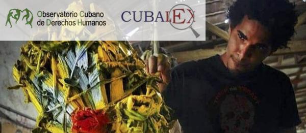 Gobierno de Cuba reprime al artista plástico Luis Manuel Otero Alcántara para aterrorizar a los artistas independientes