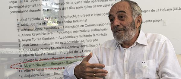 A parlamentarios europeos, sobre actuación del Representante de la UE en Cuba, Alberto Navarro