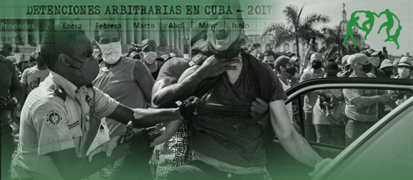 OCDH: Protestas de julio dejaron al menos 1.745 acciones represivas en Cuba, de las cuales 1.103 fueron detenciones arbitrarias